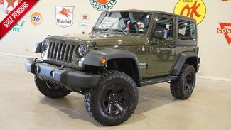 2015 Jeep Wrangler Sport 4X4 6 SPD,LIFTED,LED'S,CLOTH,BLK WHLS,9K,... in Carrollton TX, 75006