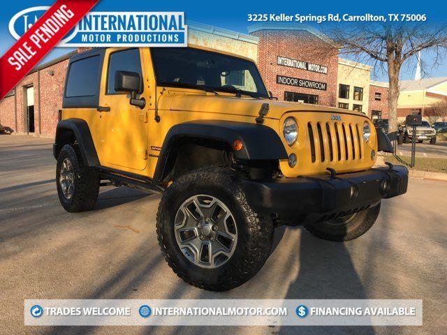 2015 Jeep Wrangler Sport in Carrollton, TX 75006