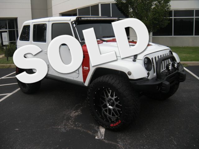 2015 Jeep Wrangler Unlimited Sahara Chesterfield, Missouri