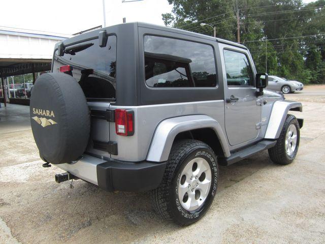 2015 Jeep Wrangler Sahara Houston, Mississippi 4