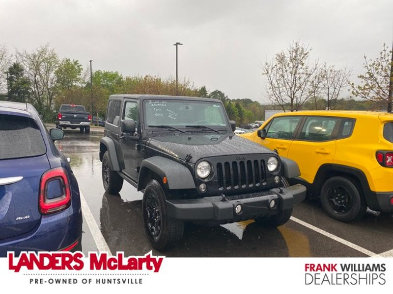 2015 Jeep Wrangler Willys Wheeler   Huntsville, Alabama   Landers Mclarty DCJ & Subaru in Huntsville Alabama