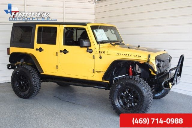 2015 Jeep Wrangler Unlimited Rubicon LIFTED!! HLL
