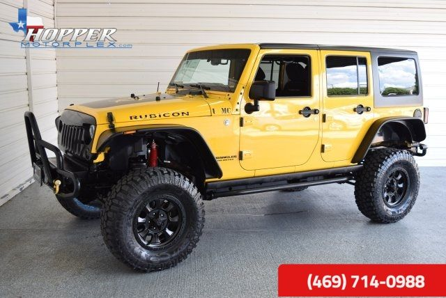 2015 Jeep Wrangler Unlimited Rubicon LIFTED!! HLL in McKinney Texas, 75070