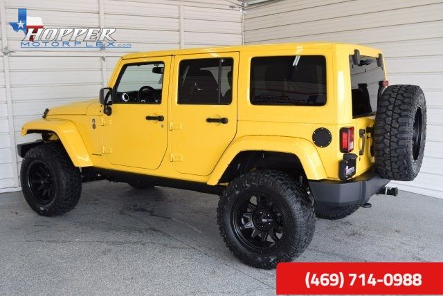 2015 Jeep Wrangler Unlimited Sahara LIFTED!! HLL in McKinney Texas, 75070