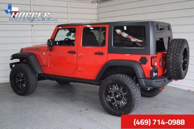 2015 Jeep Wrangler Unlimited Rubicon LIFTED!!! HLL in McKinney Texas, 75070