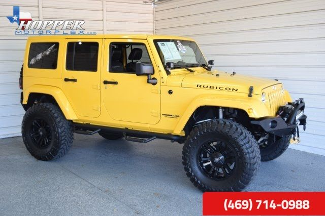 2015 Jeep Wrangler Unlimited Rubicon LIFTED HLL