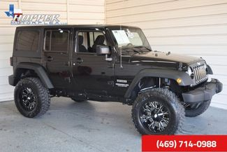 2015 Jeep Wrangler Unlimited Sport LIFTING!! HLL in McKinney Texas, 75070