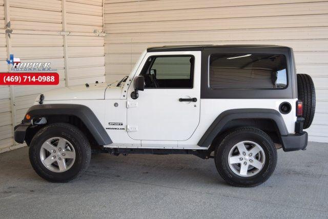 2015 Jeep Wrangler Sport in McKinney Texas, 75070