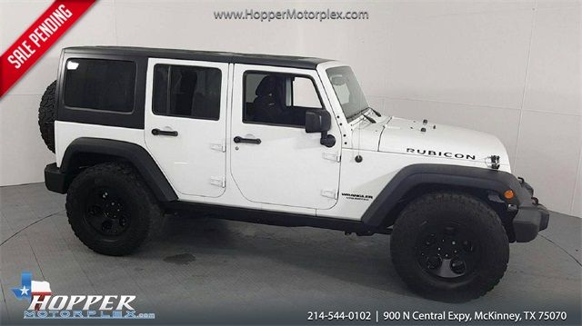 2015 Jeep Wrangler Unlimited Rubicon in McKinney Texas, 75070