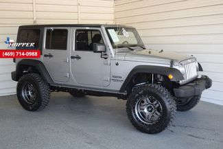2015 Jeep Wrangler Unlimited Sport New Lift with custom wheels and... in McKinney Texas, 75070