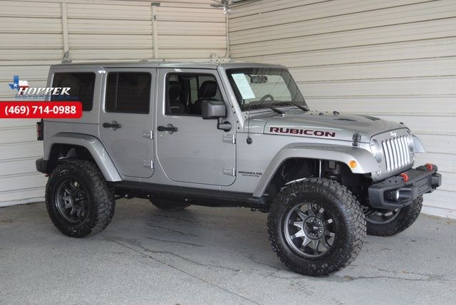 2015 Jeep Wrangler Unlimited Rubicon New Lift with custom wheels a...
