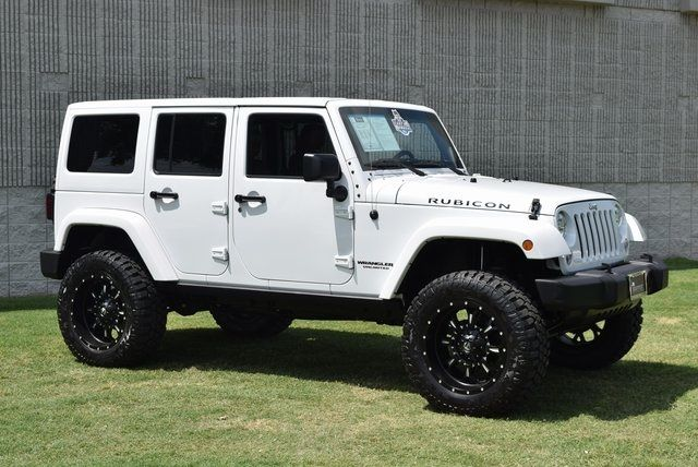 2015 Jeep Wrangler Unlimited Rubicon NEW TIRES WHEELS AND LIFT