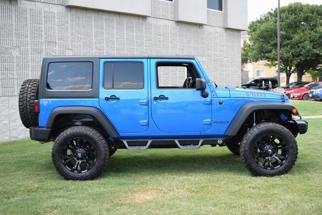2015 Jeep Wrangler Unlimited Sport LIFTED W/ CUSTOM TIRES AND WHEELS in McKinney Texas, 75070