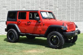 2015 Jeep Wrangler Unlimited Sport LIFTED W/CUSTOM WHEELS & TIRES in McKinney Texas, 75070