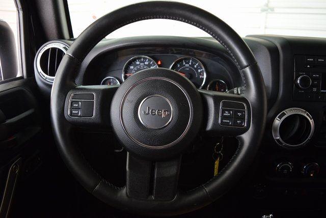 2015 Jeep Wrangler Unlimited Sahara NEW LIFT W/CUSTOM WHEELS & TIRES in McKinney Texas, 75070