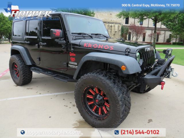 2015 Jeep Wrangler Unlimited Sport Custom Lift, Wheels and Tires