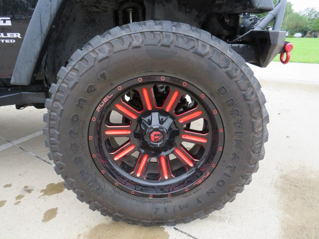 2015 Jeep Wrangler Unlimited Sport Custom Lift, Wheels and Tires in McKinney, Texas 75070