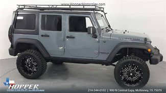 2015 Jeep Wrangler Unlimited Rubicon LIFTED W/CUSTOM WHEELS AND TIRES in McKinney Texas, 75070