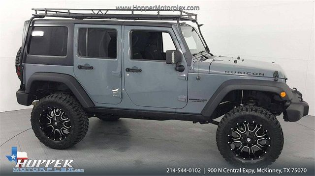 2015 Jeep Wrangler Unlimited Rubicon LIFTED W/CUSTOM WHEELS AND TIRES