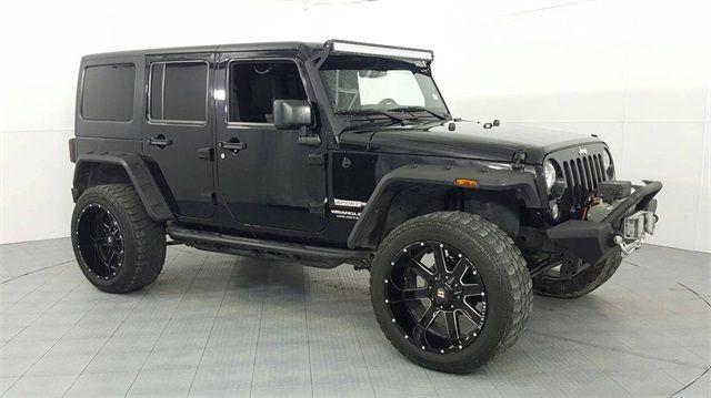 2015 Jeep Wrangler Lifted Custom Wheels