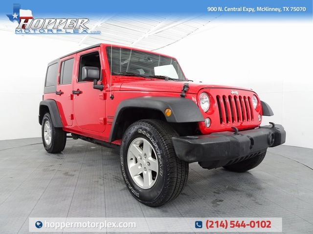 2015 Jeep Wrangler Unlimited Sport LIFT/CUSTOM WHEELS AND TIRES