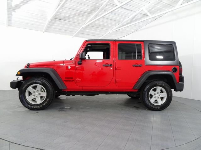 2015 Jeep Wrangler Unlimited Sport LIFT/CUSTOM WHEELS AND TIRES in McKinney, Texas 75070
