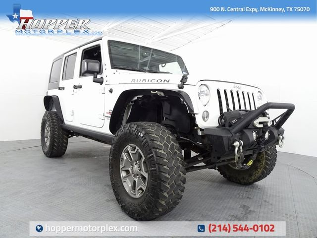 2015 Jeep Wrangler Unlimited Rubicon LIFT/CUSTOM WHEELS AND TIRES