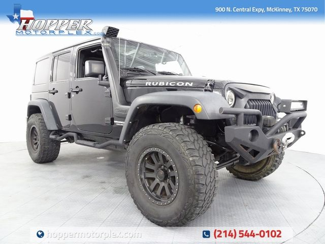 2015 Jeep Wrangler Unlimited Rubicon Custom Lift Wheels and Tires