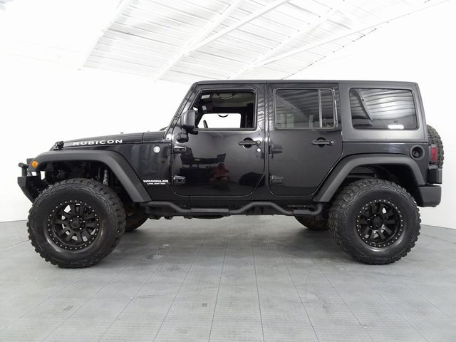 2015 Jeep Wrangler Unlimited Rubicon Custom Lift Wheels and Tires in McKinney, Texas 75070