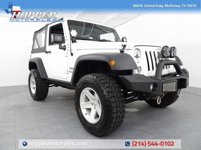 2015 Jeep Wrangler Sport Lifted in McKinney, Texas 75070