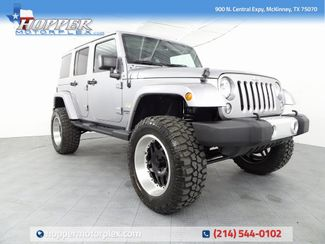 2015 Jeep Wrangler Unlimited Sahara NEW LIFT/CUSTOM WHEELS AND TIRES in McKinney, Texas 75070