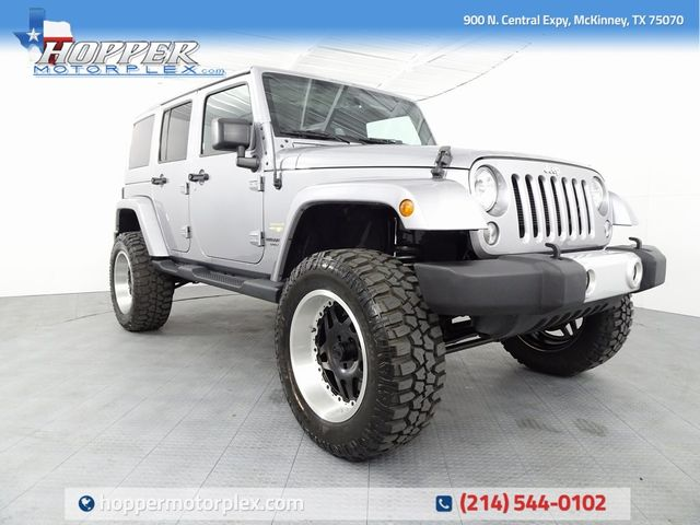 2015 Jeep Wrangler Unlimited Sahara NEW LIFT/CUSTOM WHEELS AND TIRES