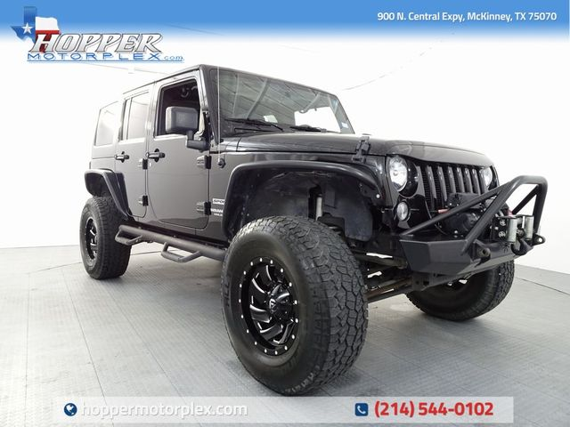 2015 Jeep Wrangler Unlimited Sport CUSTOM LIFT/WHEELS AND TIRES