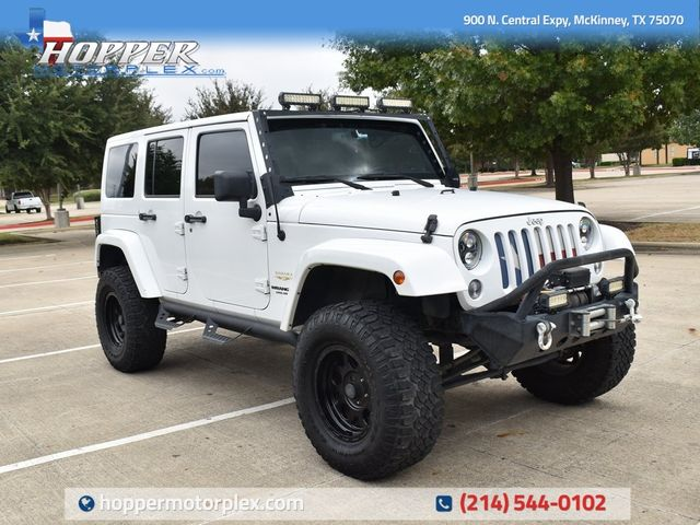2015 Jeep Wrangler Unlimited Sahara CUSTOM LIFT/WHEELS AND TIRES