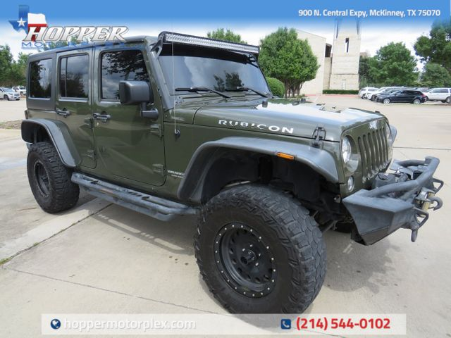 2015 Jeep Wrangler Unlimited Rubicon Custom Lift, Wheels And Tires