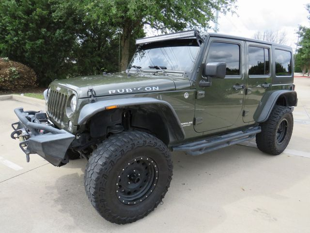 2015 Jeep Wrangler Unlimited Rubicon Custom Lift, Wheels And Tires in McKinney, Texas 75070