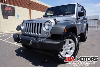 2015 Jeep Wrangler 4x4 Sport Pkg SUV V6 4WD 6 Speed ~ 29k LOW MILES!! | MESA, AZ | JBA MOTORS in Mesa AZ
