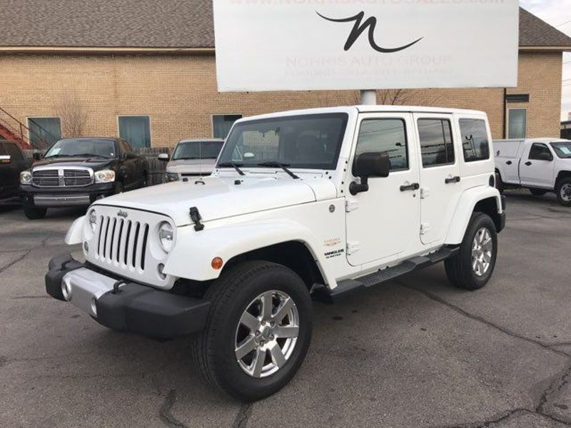 2015 Jeep Wrangler Unlimited Sahara   Oklahoma City, OK   Norris Auto Sales (NW 39th) in Oklahoma City OK