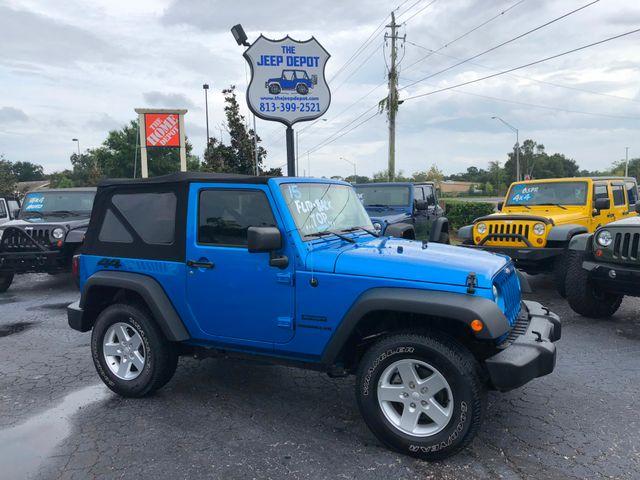 2015 Jeep Wrangler Sport Riverview, Florida 1