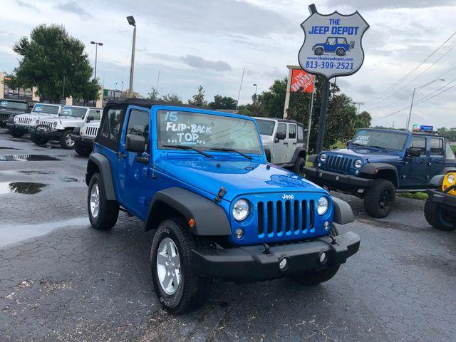 2015 Jeep Wrangler Sport Riverview, Florida