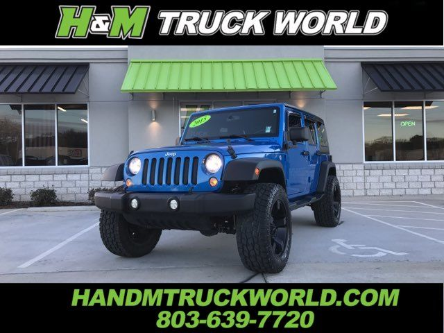 2015 Jeep Wrangler Unlimited Sahara 4X4 *LIFTED*BLACK XD'S*SHARP