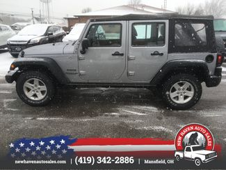 2015 Jeep Wrangler Unlimited 4X4 Sport in Mansfield, OH 44903