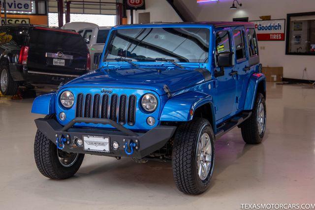 2015 Jeep Wrangler Unlimited Sahara 4x4 in Addison, Texas 75001