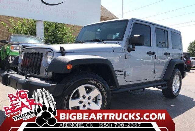 2015 Jeep Wrangler Unlimited Sport in Oklahoma City OK