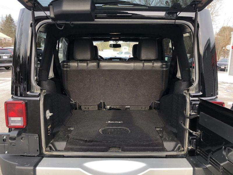2015 Jeep Wrangler Unlimited Sahara  in Bangor, ME
