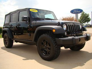 2015 Jeep Wrangler Unlimited Willys Wheeler Bettendorf, Iowa 2