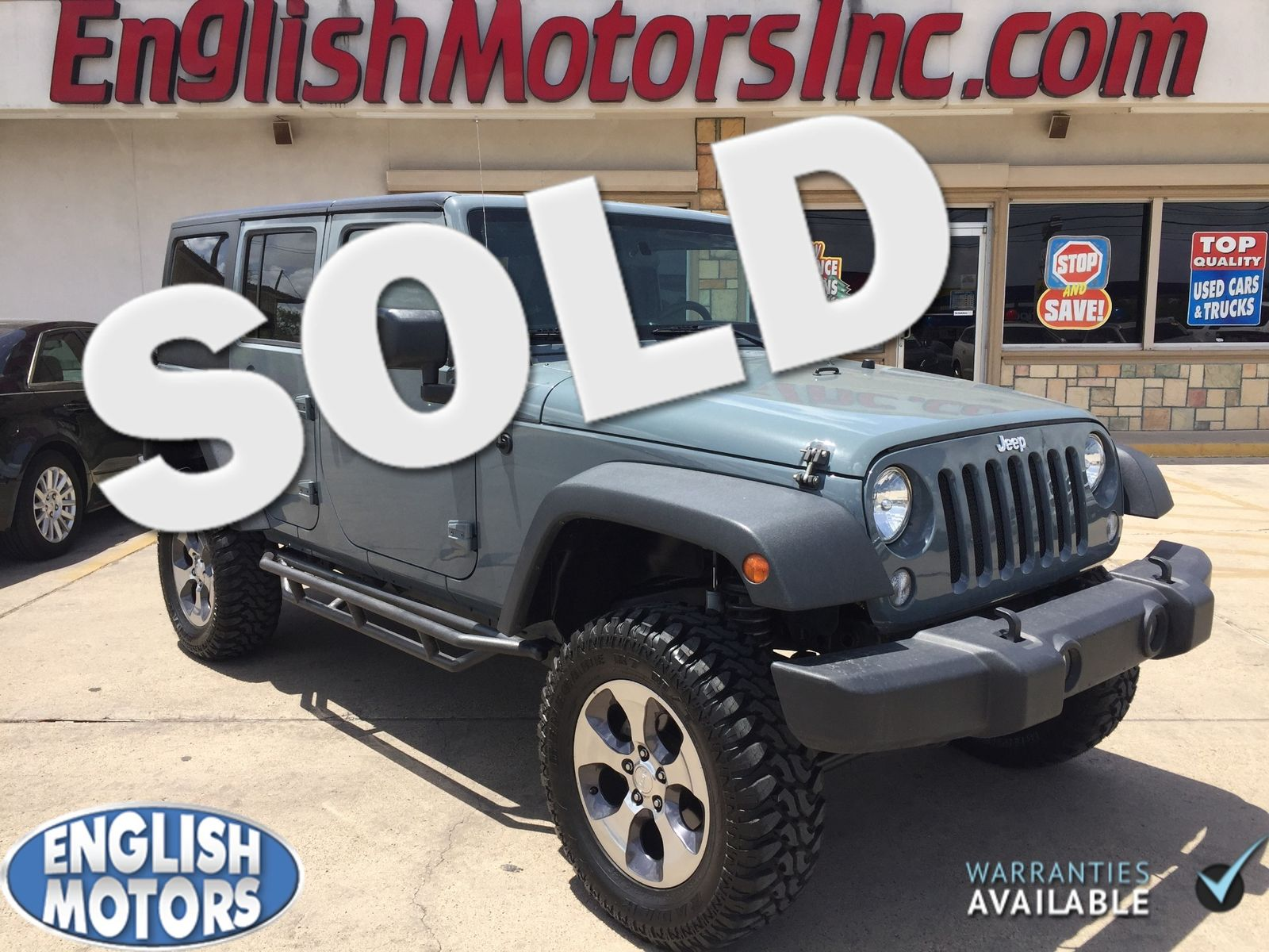 2015 Jeep Wrangler Unlimited Brownsville Tx English Motors Fuel Filter In