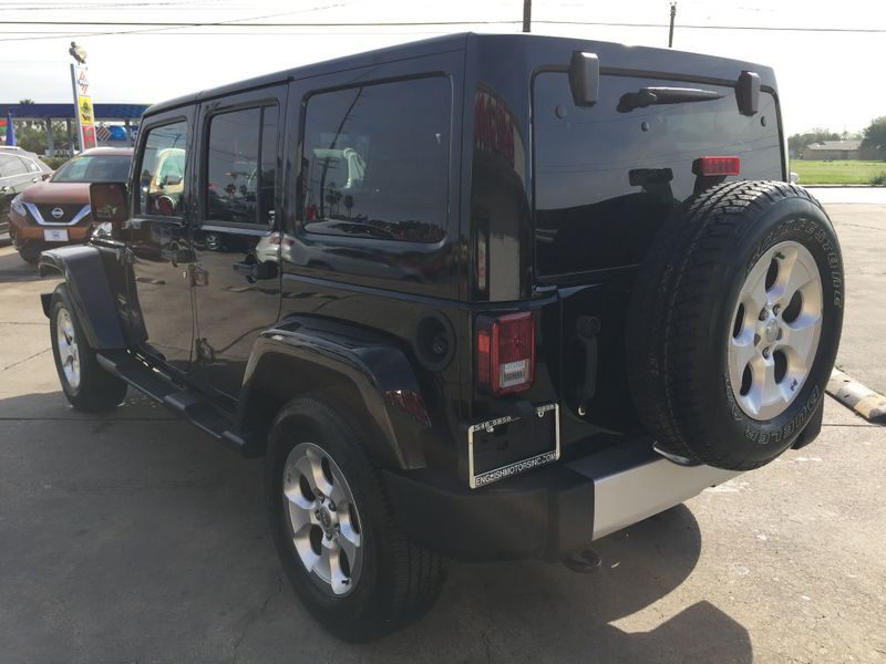 2015 Jeep Wrangler Unlimited Sahara  Brownsville TX  English Motors  in Brownsville, TX
