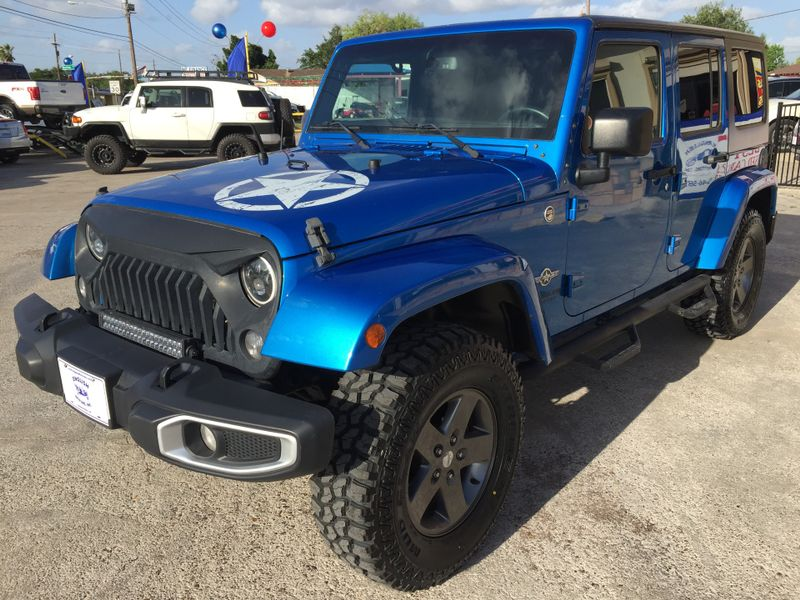 2015 Jeep Wrangler Unlimited Freedom Edition  Brownsville TX  English Motors  in Brownsville, TX