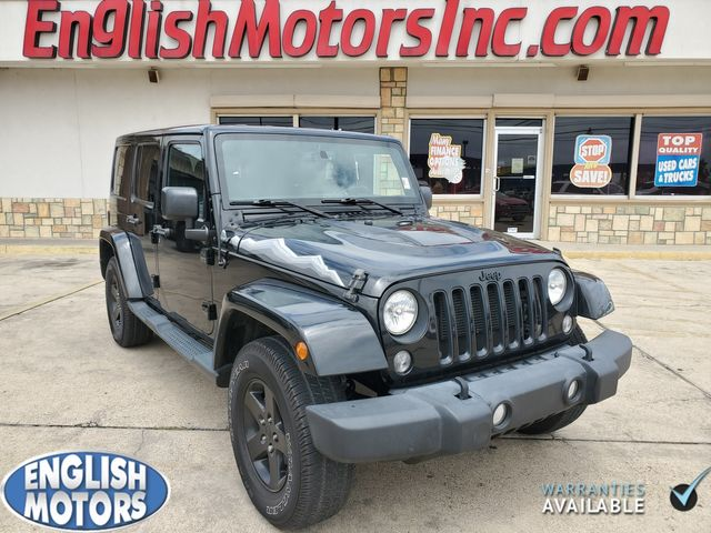 2015 Jeep Wrangler Unlimited X Sahara in Brownsville, TX 78521